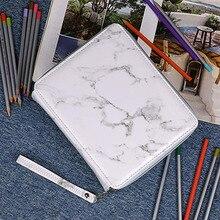 Estuche escolar con 120 agujeros para lápices, estuche para bocetos grandes, estuche de bolígrafo artístico, bolsa de penalización multifunción Kawaii, caja de suministros para la escuela