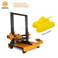 SIMAX3D Mi M200 Industrial grade 3D printer desktop large size high precision fdm 3d printer education Newest DIY KIT Hotbed