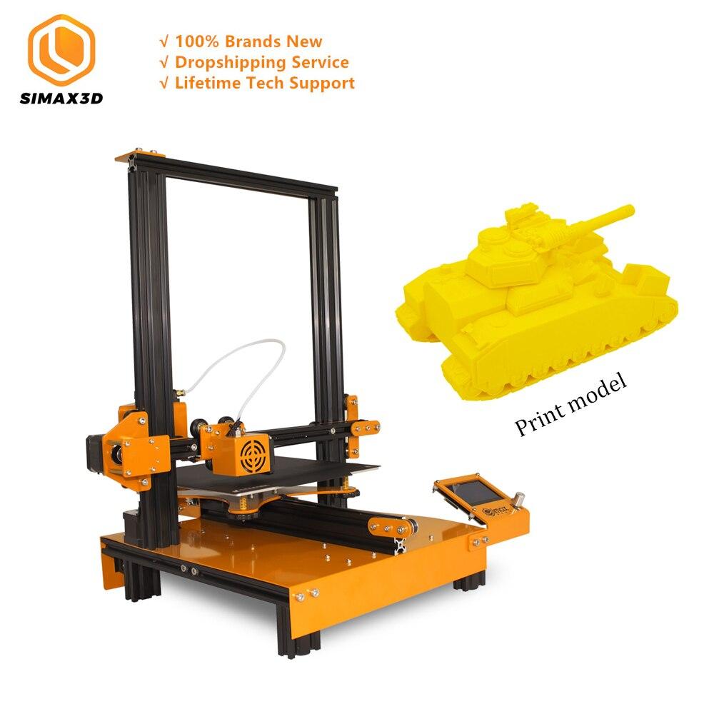 Simax3d Mi-M200 grau industrial impressora 3d desktop grande tamanho de alta precisão fdm 3d educação mais novo kit diy hotbed