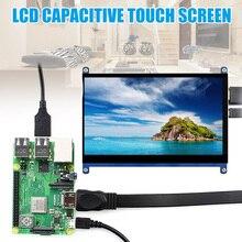 7-дюймовый сенсорный экран 1024x600 разрешение ЖК-Дисплей HDMI TFT мониторы Совместимость с Raspberry Pi новое поступление