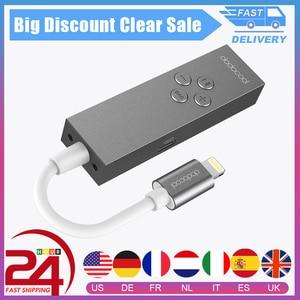 Image 1 - dodocool Certified Hi Res Lightning to 3.5mm Headphone Audio Jack Earphone Adapter 3.5mm Earphone Converter In line Remote
