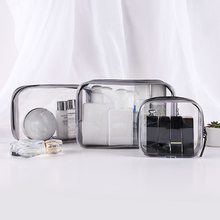Clear Travel Cosmetics Storage Bag 4 pcs Set
