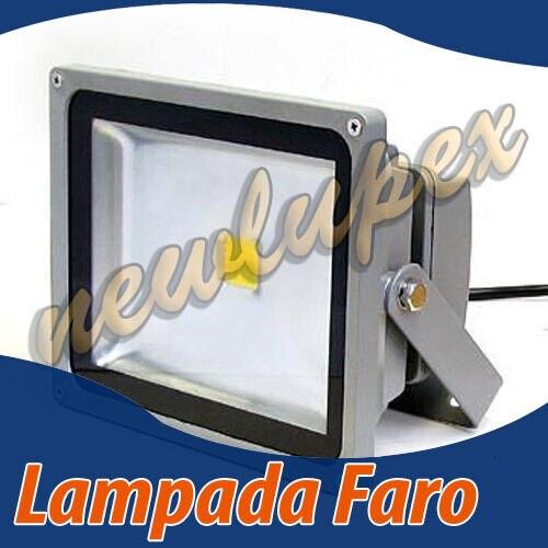 LAMPADA FARO LA LUCE LED 20W DA INTERNI ED ESTERNI FREDDA