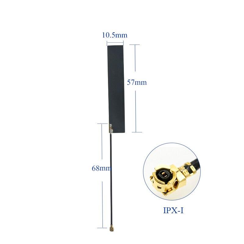 433 МГц Встроенный FPC гибкий патч всенаправленная антенна с высоким коэффициентом усиления 2.5dBi Lora модуль беспроводной передачи данных