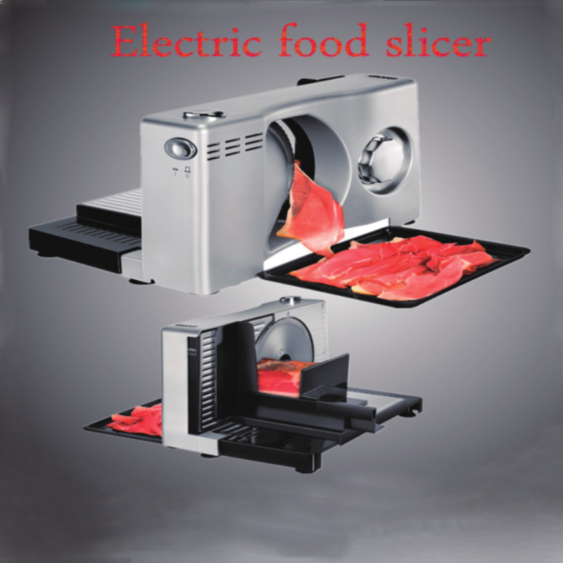 Electric Meat Planer Semi-automatic Meat Slicer Fruit And Vegetable Slicer Family Mini Foldable Voltage 100V~120V Or 220V~240V