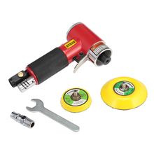 2 / 3 Inches 15000rmp High-Speed Pneumatic Grinding Machine With Pad Polishing Sanding Tools Mini Air Angle Polisher Power Tools цена и фото
