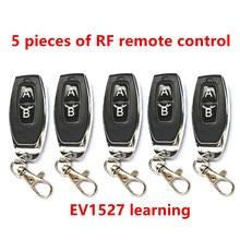 5 pezzi 433 Mhz telecomando a radiofrequenza codice di apprendimento 1527 EV1527 per porta garage r controller allarme 433 mhz incluso