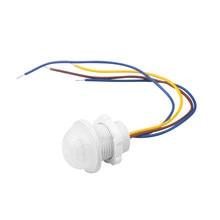 Diodo emissor de luz 110v 220v pir sensor de movimento infravermelho interruptor automático em fora do interruptor de luz pir sensor detector interruptor inteligente