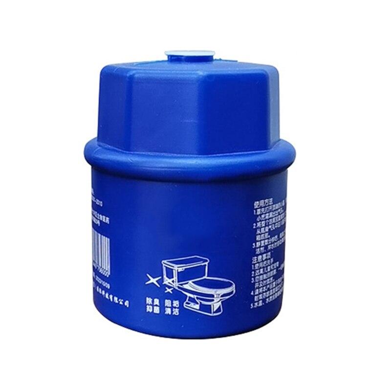 Cleaner Stain Remover Flush Bottled Helper Blue Bubble Fiushes Bathroom Cistern 63HA
