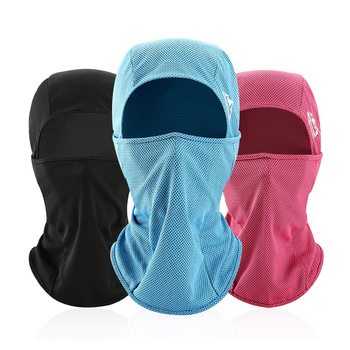 Outdoor Balaclava Full Face Cover Quick Dry Breathable Ice Silk Summer Face Mask Fishing Cycling Anti-UV Men Scarf Sleeve Cap new ghost skull mask cs balaclava for military fans cycling face mask anti uv rays rib fabric quick dry silk screen printing