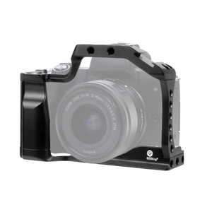 Image 3 - CNC Aluminum Camera Cage for Canon EOS M50 / M5 DSLR Case Cold shoe Mount Expansion Cover Quick Rease Plate Support Photography