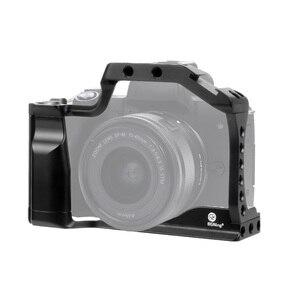 Image 3 - CNC אלומיניום מצלמה כלוב עבור Canon EOS M50 / M5 DSLR מקרה קר נעל הר הרחבת כיסוי מהיר Rease צלחת תמיכה צילום