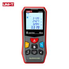 UNI-T  LM45e Laser Distance Meter Handheld Mini Laser Rangefinder Digital LCD Tape Range Finder Diastimeter new uni t ut390b laser range finder distance meter area volume lcd meter 0 05m 45m