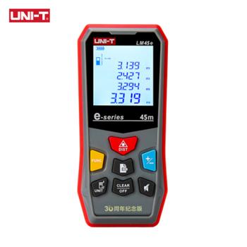 UNI-T  LM45e Laser Distance Meter Handheld Mini Laser Rangefinder Digital LCD Tape Range Finder Diastimeter hot 100m digital laser distance meter measure range finder area diastimeter y