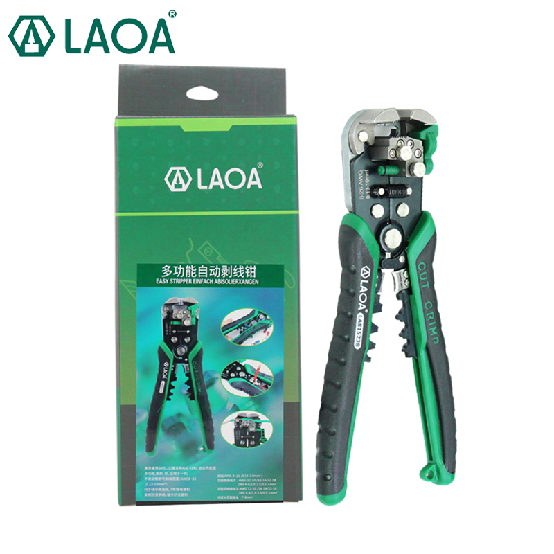 LAOA Automatic Wire Stripping Professional Alectrical Wire Stripper High Quality Wire Stripper