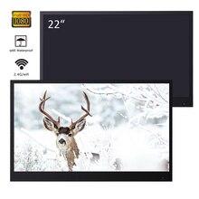 Souria 22 дюйма Черный Full HD Ванная комната Роскошный светодиодный Smart Android tv водонепроницаемый Декор отель используется Бескаркасный