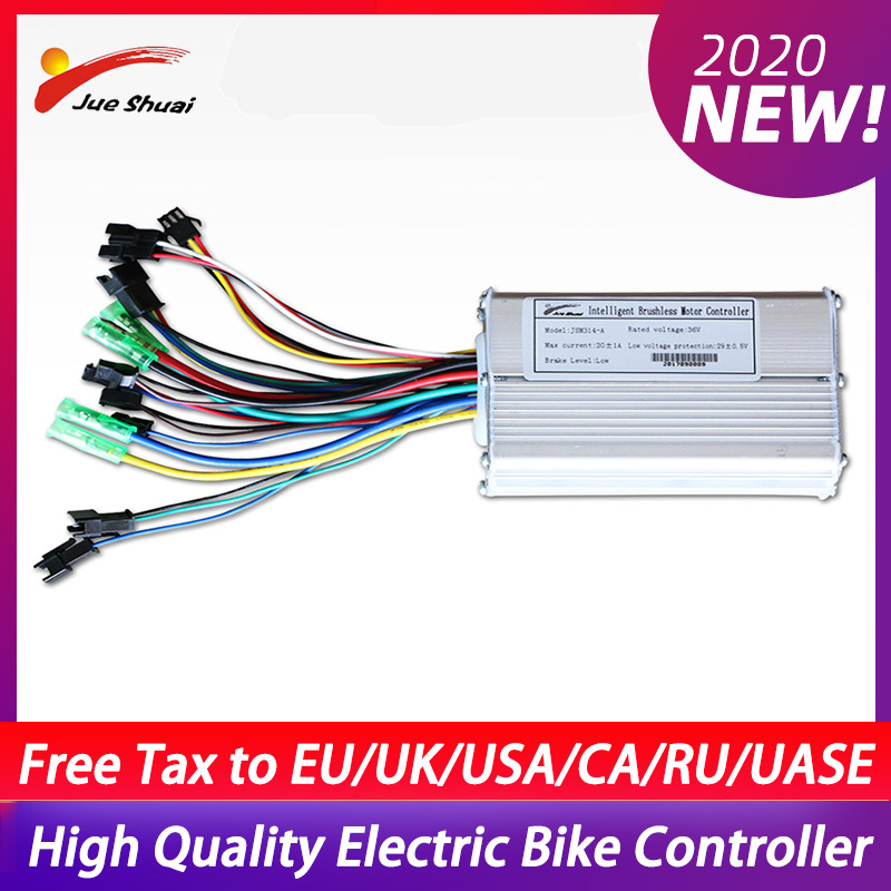 36V 500W Electric Bike Controller DC 12A/20A LCD/LED Controls DC Electric Scooter Motor Brushless Controller Bicycle Accessories