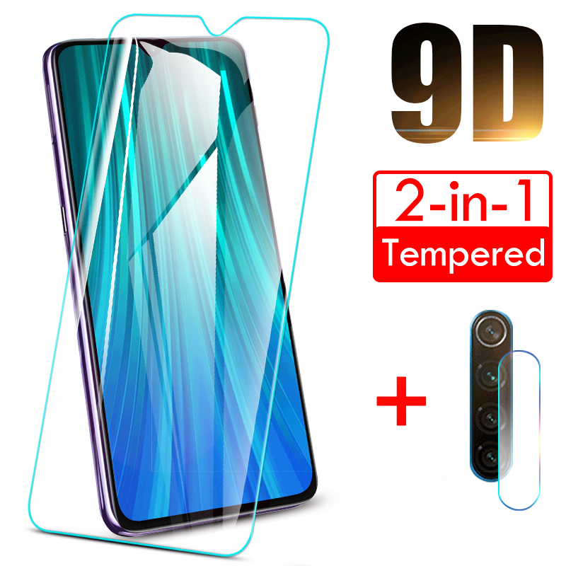 Full Cover Tempered Glass For Xiaomi Redmi Note 8 7 6 5 8 Pro Lens Screen Protector For Redmi 6A 7A 8A 5 Plus Protective Glass(China)