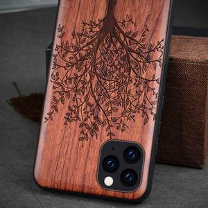 Image 2 - Phone Case For iPhone 11 iPhone11 Pro Original Boogic Wood TPU Case For iPhone XR XS Max 8 7 6 6s plus SE 2 Phone Accessories