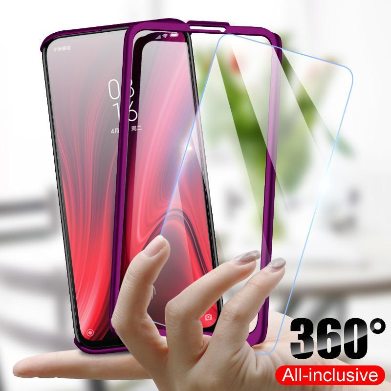 360 Luxury Degrees Phone Case For Xiaomi Redmi Note 9S 5 6 7 8 10 Pro Cases For Xiaomi Redmi 6A 7A K20 Mi 9T 8A 9 SE MI CC9 Pro