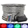 SMD 5050 ca 220V LED bande étanche blanc LED bande chaud blanc bleu LED bande 220v rgb LED bande dimmable lumière LED 50m 100m