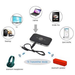 Image 3 - Bluetooth 5.0 משדר ומקלט 2 ב 1 RCA 3.5mm 3.5 שקע Aux סטריאו מוסיקה אודיו אלחוטי מתאם עבור רכב טלוויזיה מחשב אוזניות
