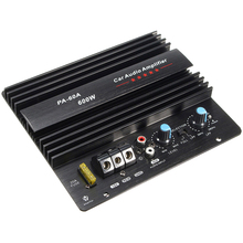 12V 600W PA-60A Subwoofer Module Mono Channel Amplifier Board High Power HIFI Bass Speaker Sound Lossless Accessories Car Audio