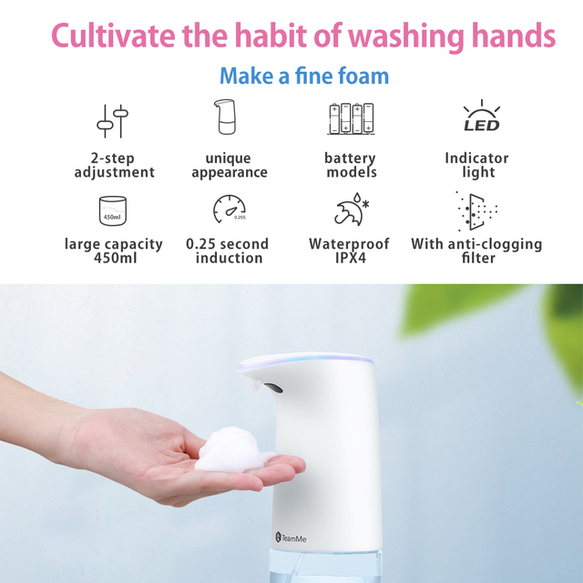 SNAPTAIN - Bezdotykový dávkovač mydla 3