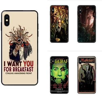Cool Lovecraft Film Festival For iPhone 11 12 Pro 5 5S SE 5C 6 6S 7 8 X XR XS Plus Max Soft Fashion Phone Case image