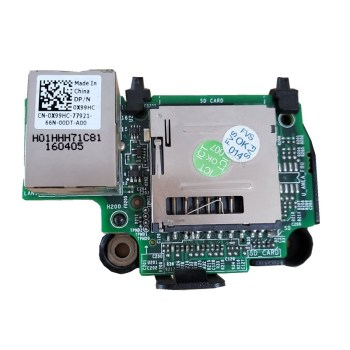 R430 R530 T430 RJ45 IDRAC & SD CARD Reader 0X99HC 0X99HC X99HC IDRAC 8 Enterprise Remote Card image