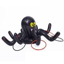 Человек-паук игра, одевание колец надуть для День рождения и Хэллоуин-надувная игрушка