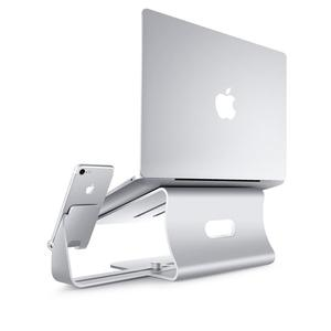 Image 3 - MacBook מחברת קירור רפידות 2 ב 1 אלומיניום שולחן עמדת משרד מחשב בית מחשב מחשב מתכוונן Stand