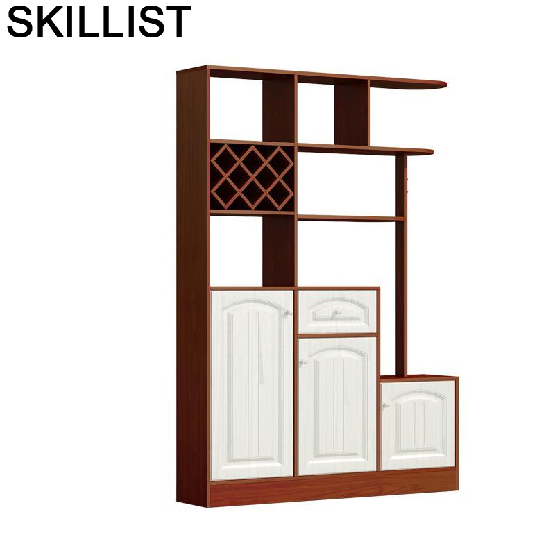 Dolabi Cristaleira Storage Gabinete Adega Vinho Display Meja Table Mueble Shelves Commercial Shelf Furniture Bar Wine Cabinet