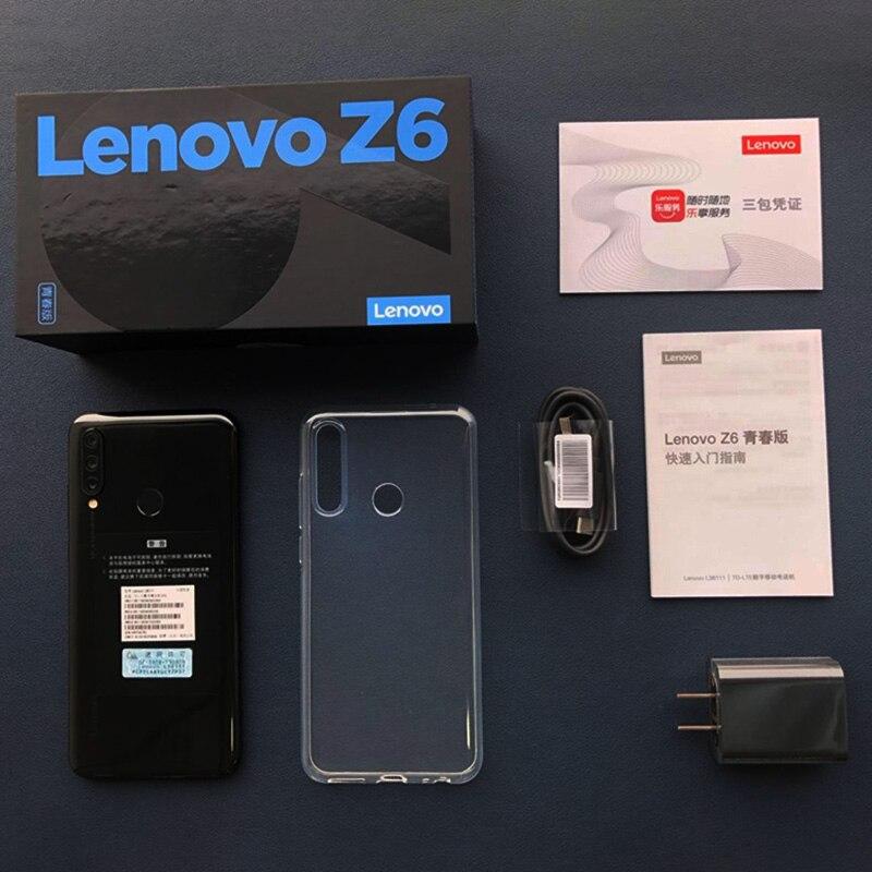 Lenovo Z6 Lite téléphone Mobile 4GB 64GB Smartphone 6.3 pouces 2340*1080 caméra arrière 16.0MP + 8.0MP + 5.0MP Octa Core téléphones - 6