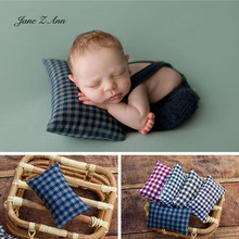 Pillow Shooting-Accessories Photography-Props Studio Newborn Baby Jane Plaid 5-Colors