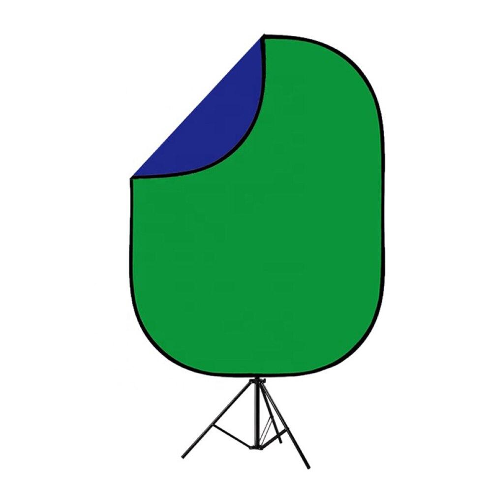 Chromakey verde chromakey azul dobrável pano de