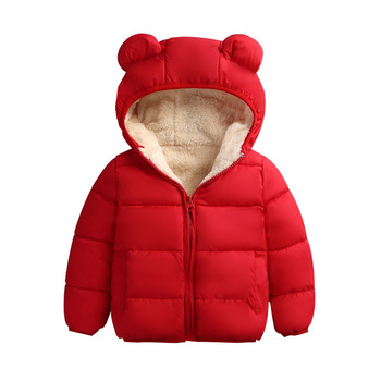 Winter Coat Girls Jacket For Girls Coat Kids Warm Hooded Outerwear Coat For Boys Jacket Coat Children Clothes недорого