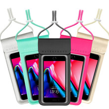 Pouch Waterproof Dry-Diving-Bag with Neck-Strap for iPhone Xiaomi Samsung Meizu Cover