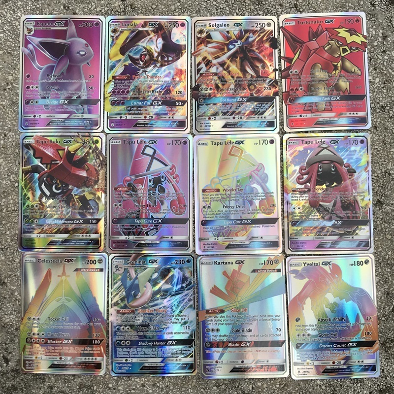 Image 4 - GX MEGA Shining Cards Game Battle Carte 20 60 100pcs 200 Pcs Trading Cards Game Children Toy-in Game Collection Cards from Toys & Hobbies