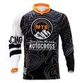 Новый DH MX горные мотокроссы Джерси мотоцикл мото футболка с длинным рукавом внедорожный Джерси 100% полиэстер велосипед рубашка