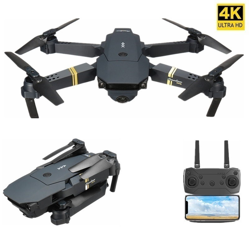 E58 Wide Angle RC HD Drone FPV GPS 4K Professional Aerial Photography Quadcopter High Hold Mode  Foldable Helicopter Outdoor Toy