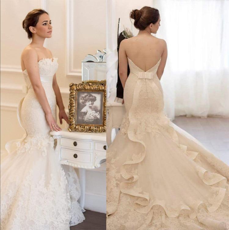 Hot Sale Arabic Wedding Dress Customer Order High Quality 2016