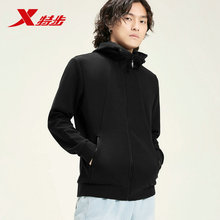 881329069225 Xtep men sports jacket autumn new hooded zipper fashion casual knit top