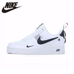 NIKE Новое поступление ВВС 1 AF1 дышащая мужская обувь для бега низкие удобные кроссовки # AJ7747