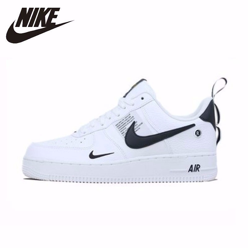 NIKE New Arrival AIR FORCE 1 AF1 Breathable Utility Men Running Shoes Low Comfortable Sneakers #AJ7747