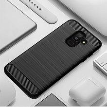 פחמן רך סיליקון טלפון Case לסמסונג גלקסי A6 בתוספת A6S 2018 כיסוי פגוש GalaxyA6 A6plus A62018 A6s2018 SM A600F a605F