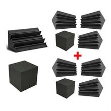 Deadening-Equipment-Accessories Corner-Bass-Traps Acoustic Sound 2set Blocks Booth-Studio