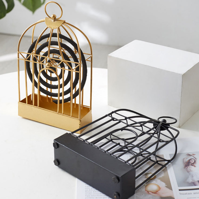Mosquito Coil Rack Household Incense Stand Box Hotel Bathroom Sandalwood Storage Shelf