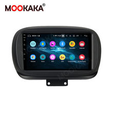 4G 2 Din Android 10.0 araba radyo multimedya Video oynatıcı Fiat 500X 500X2014 2015 2016-2019 WiFi Bluetooth AM RDS Autoradio