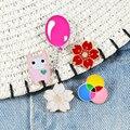 Nette Cartoon Broschen Blume Ballon Geometrie Gelee Mädchen 5 Stil Emaille Pins Hemd Brosche Pin kragen Denim Zubehör Schmuck